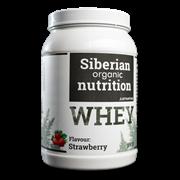 Белковый коктейль протеин WHEY, 900г (клубника)