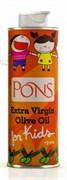 Оливковое масло PONS Extra Virgin для детей с 3 лет, 250 мл