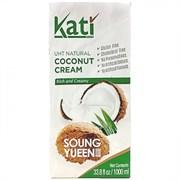 Сливки кокосовые Coconut Cream Kati 1 л