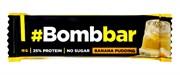 Батончик Bombbar Банановый пудинг в шоколаде, 40г