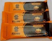 Fitcake Горький шоколад с арахисом 72%, 40г
