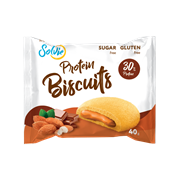 Бисквит Solvie шоколадно - миндальный, 40г