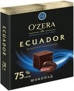 Шоколад в кубиках ECUADOR 75%, 90 г