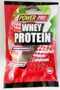 Сывороточный протеин WHEY с урсоловой кислотой «КЛУБНИКА», саше, 40г